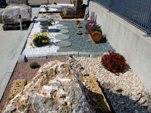 Vendita pietre ciottoli e granulati da giardino for Ciottoli da giardino leroy merlin