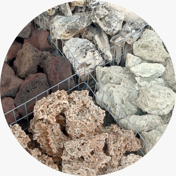 Pietre ornamentali da giardino